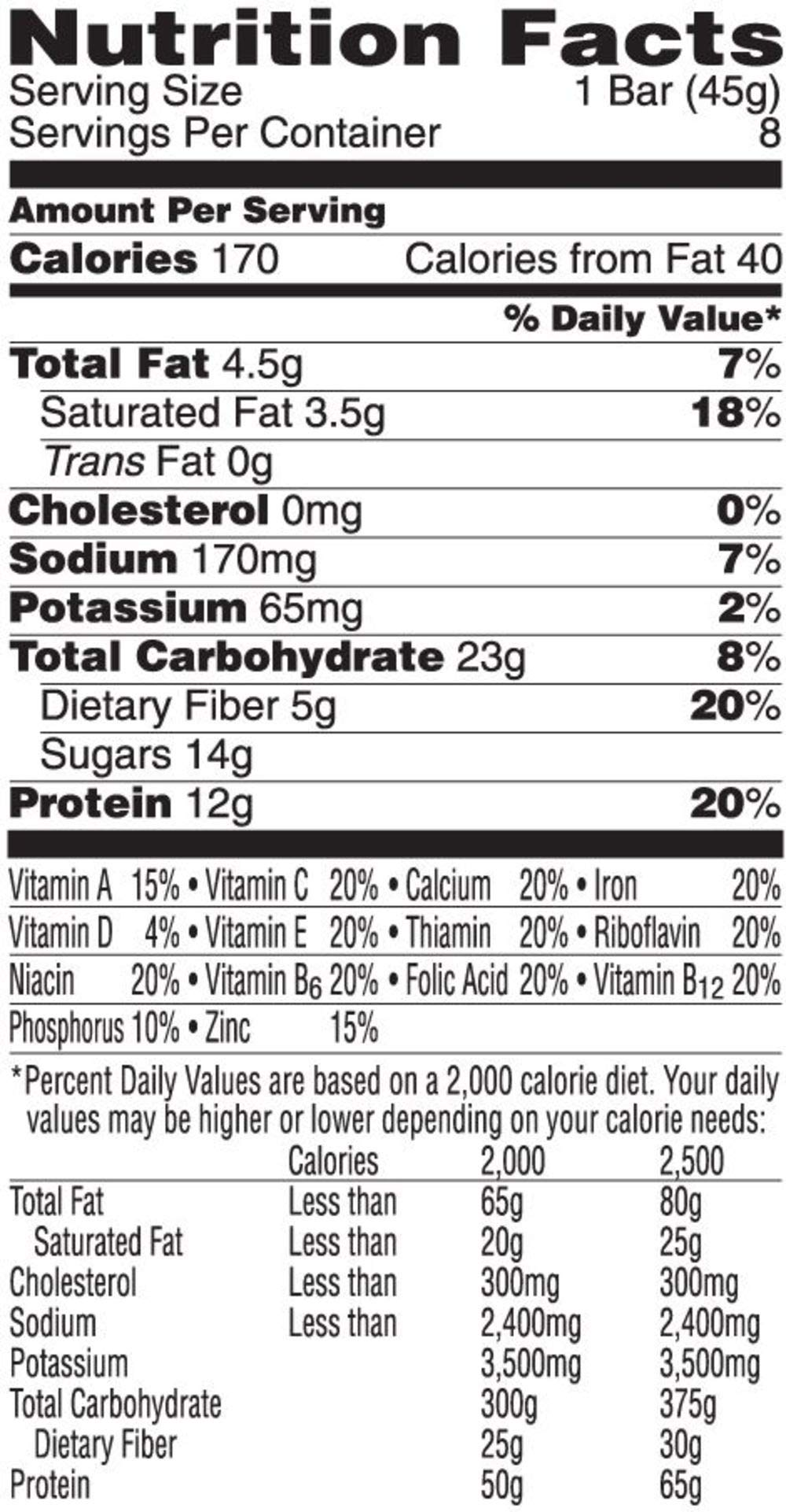 Kellogg's Special K Protein Meal Bars, Chocolate Caramel, Bulk Size, 48 Count (Pack of 6, 12.7 oz Trays) by Special K (Image #2)