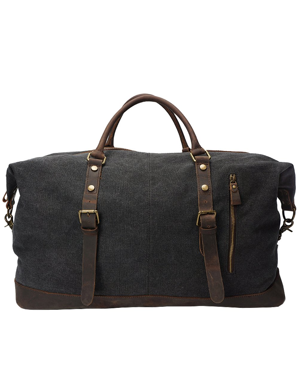 Men Canvas Hand Luggage Outdoor Travel Outdoor Camping Outdoor Dark-grey