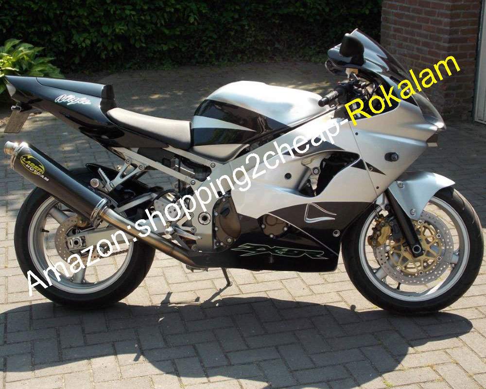 Amazon.com: ABS Motorcycle Parts For Kawasaki ZX-9R 02 03 ...