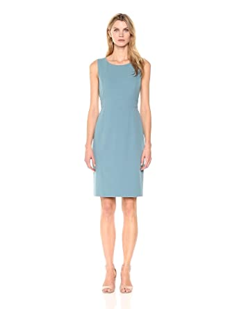 d9aa60f3 Kasper Women's Sheath Dress with Waist Detail at Amazon Women's ...