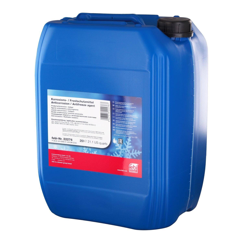 febi bilstein 19402 Antifreeze / Coolant G12 Plus (Violet) 5 Litres