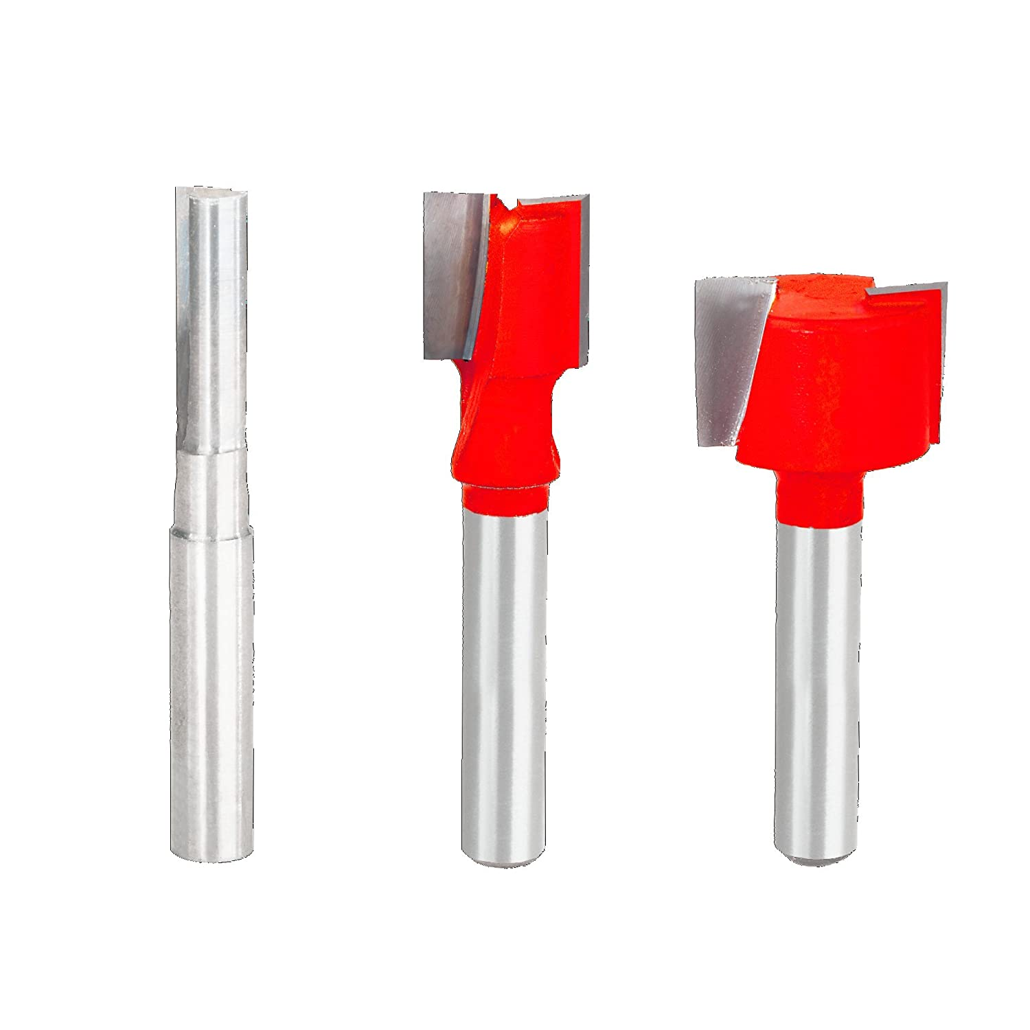 1//2 Shank Freud 3 Piece Chamfer Bit Set 89-250