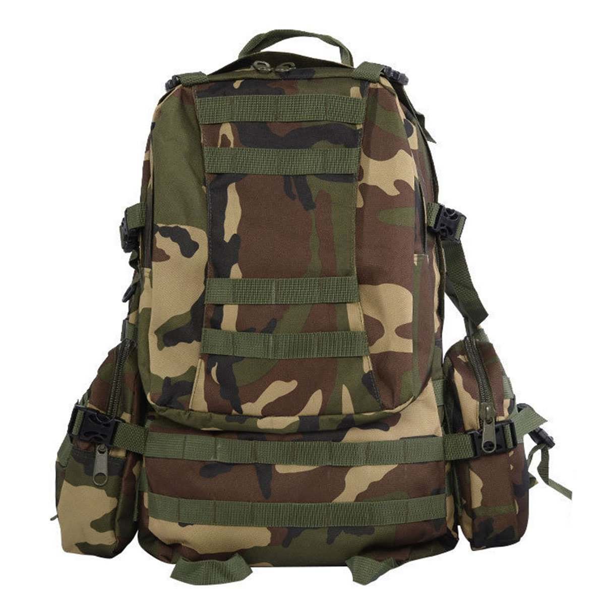 Goplus New 55L Outdoor Military Tactical Backpack Rucksack Camping Bag Hiking Backpack