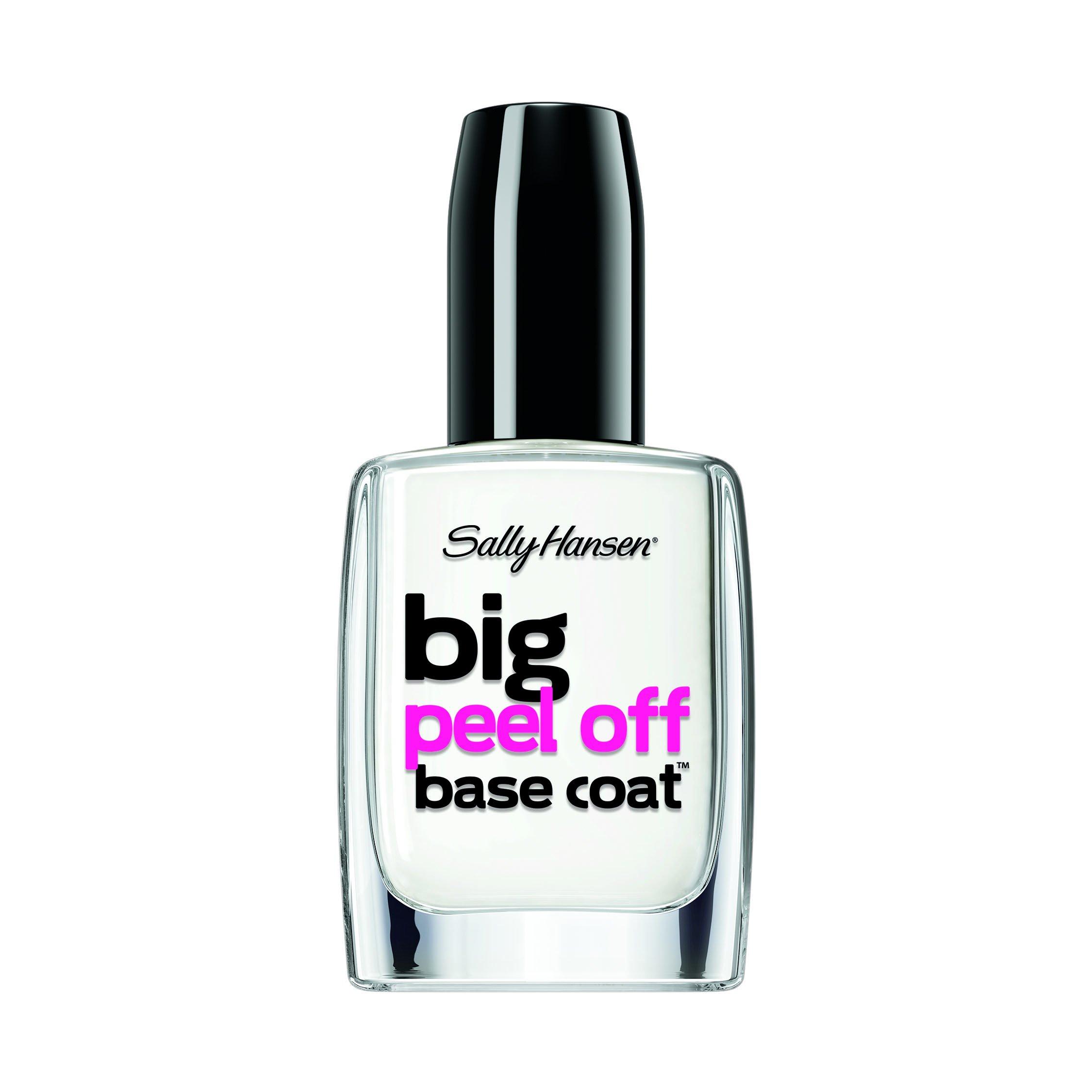 Sally hansen treatment big shiny top coat - Base coat nail salon ...