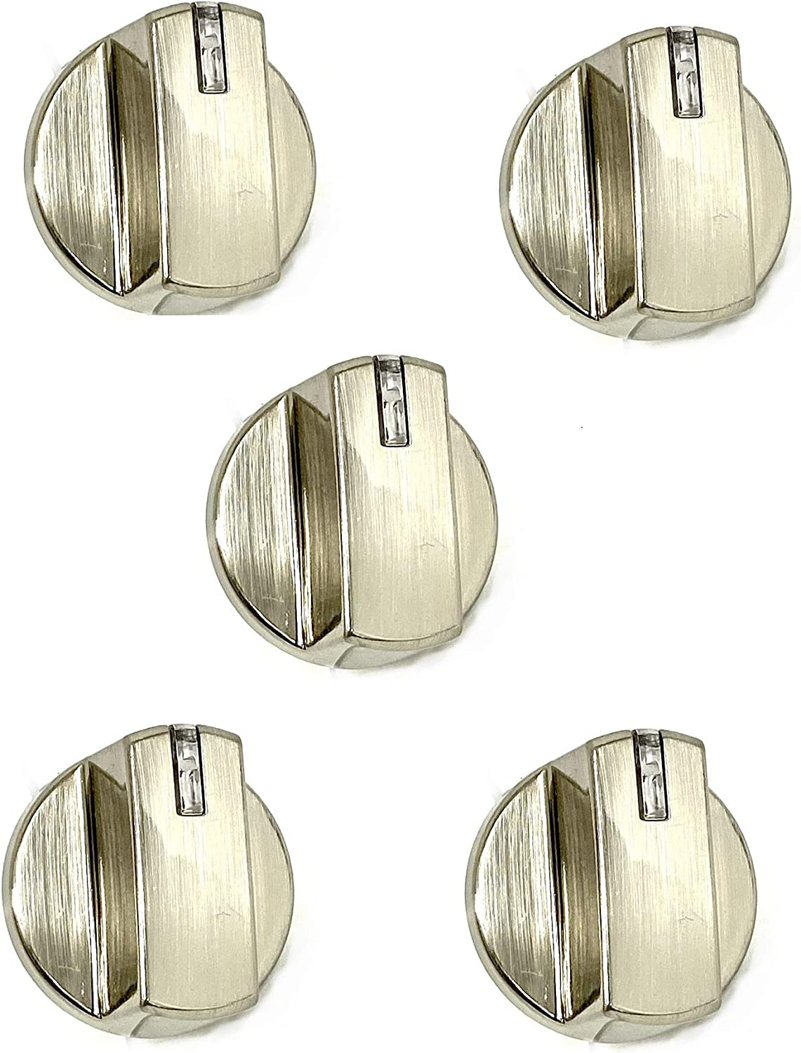 5 x AEZ73293801 Replacement for LG Gas Cooktop Knob Assembly EBZ60710601