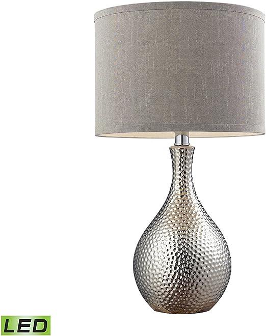 Amazon.com: Dimond d124-led 1 luz LED lámpara de mesa con ...