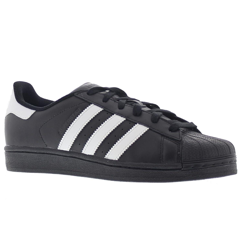 59d5955f3d121 adidas Originals Men's Superstar Foundation Casual Sneaker,  Black/White/Black, 10 D(M) US