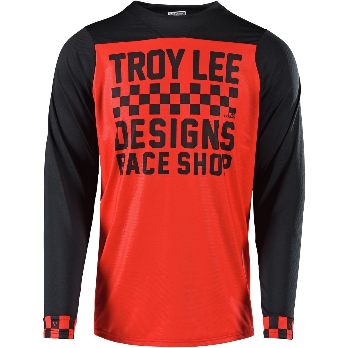 Troy Lee Designs Trail-Jersey Skyline Orange Gr. S
