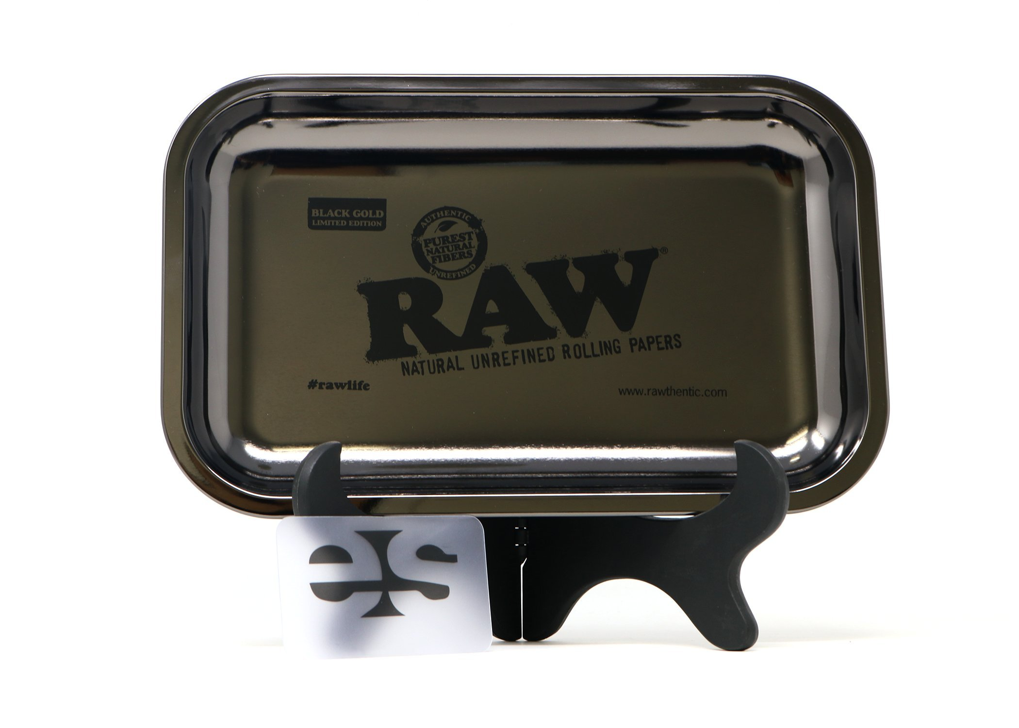 RAW Limited Edition Black Gold Tray (Small)
