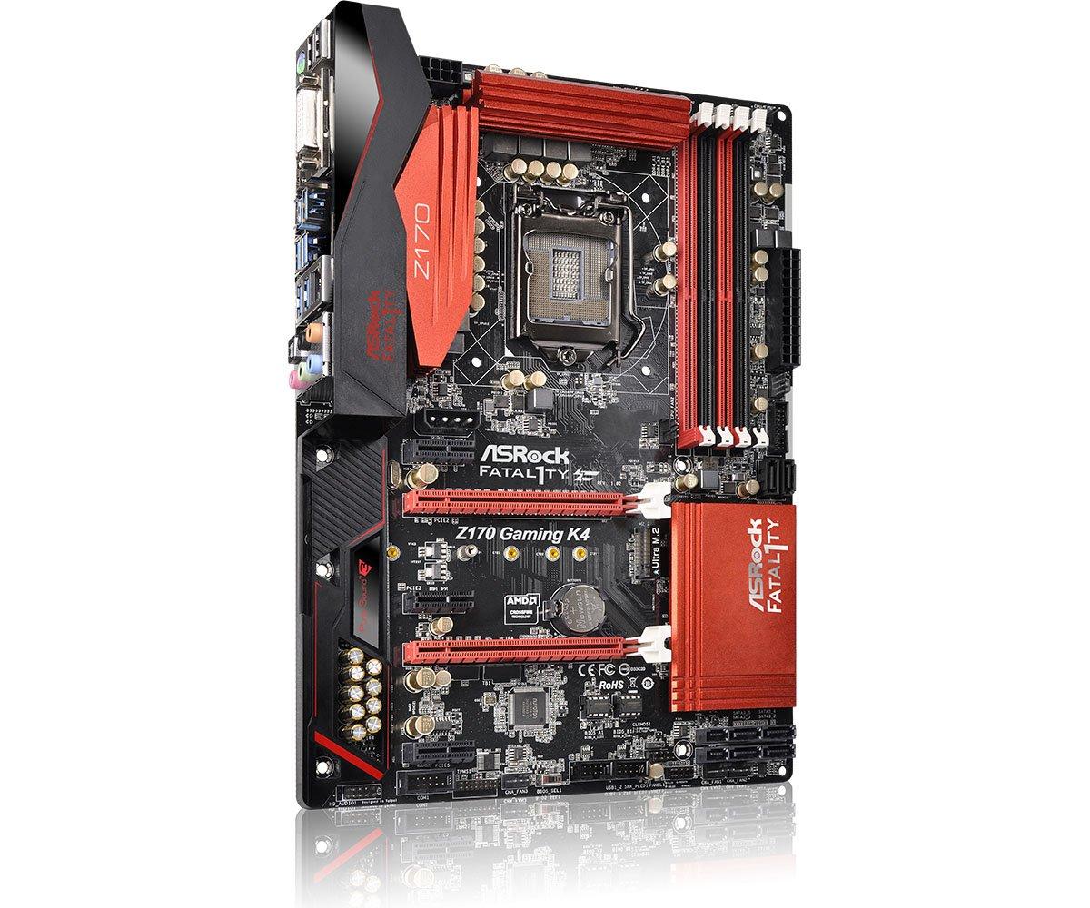 ASRock Fatal1ty Z170 Gaming K4 Intel RST Descargar Controlador