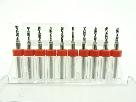 2.05mm to 2.95mm Tungsten Micro Drill Bits Japanese CNC PCB Dremel Installation