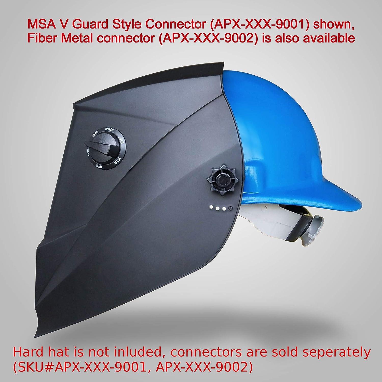 Antros ah6 - 660-0000 energía Solar Auto careta de seguridad para soldar casco con visera AntFi X60-6 Extra anchos para hombre de pantalla 4/5-9/9,13 con ...