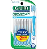 GUM Go-Betweens Proxabrush Cleaners Wide (Pack of 3 (10 Ct))
