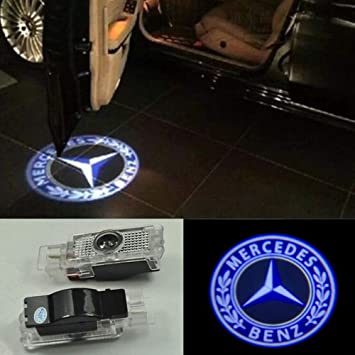 4pcs LED Door Step Courtesy Light Laser Projector for Mercedes Benz C-Class W204