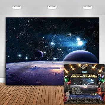 Mme 7x5ft Cosmic Sky Photography Background Shining Stars Backdrop Star Wars Photo Video Studio Props Lxme406 Amazon Sg Electronics