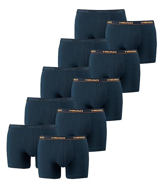 HEAD Men Boxer shorts 841001001 Basic Boxer 10er Pack: Amazon.co.uk:  Clothing