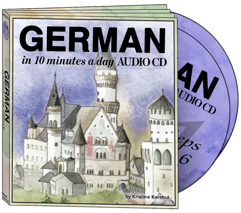 GERMAN in 10 minutes a day® AUDIO CD by Brand: Bilingual Books, Inc. (Image #5)