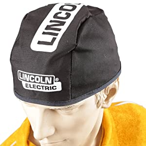 Lincoln Electric Black Large Flame-Resistant Welding Beanie