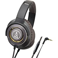 Audio-Technica 铁三角 ATH-WS770iS 便携式智能手机耳麦 GM(灰银色)