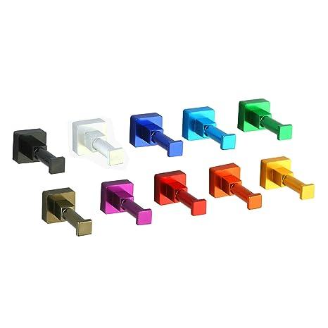 Amazon.com: Atongham – Gancho de pared de aluminio para ...