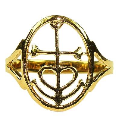 Souvenirs de France - Bague Croix de Camargue - Argent Plein, Plaqué Or ou  Or Plein 18-Carats  Amazon.fr  Bijoux 8d871acb8e6