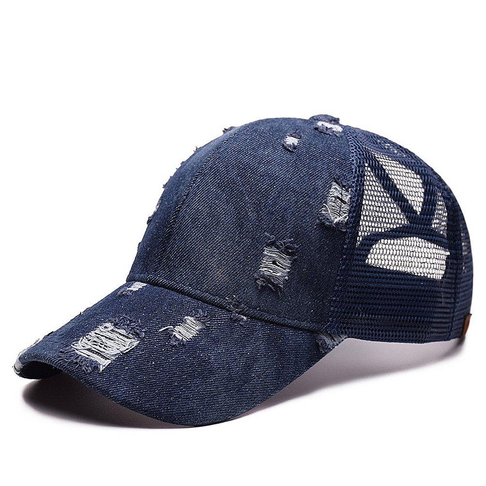 Amazon.com  Unisex Breathable Quick Dry Mesh Baseball Cap Sun Hat ... 2bf08603ba0