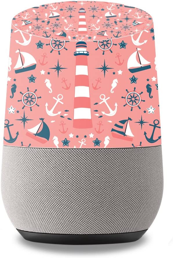 MightySkins Skin Compatible with Google Home wrap Cover Sticker Skins Nautical Dream