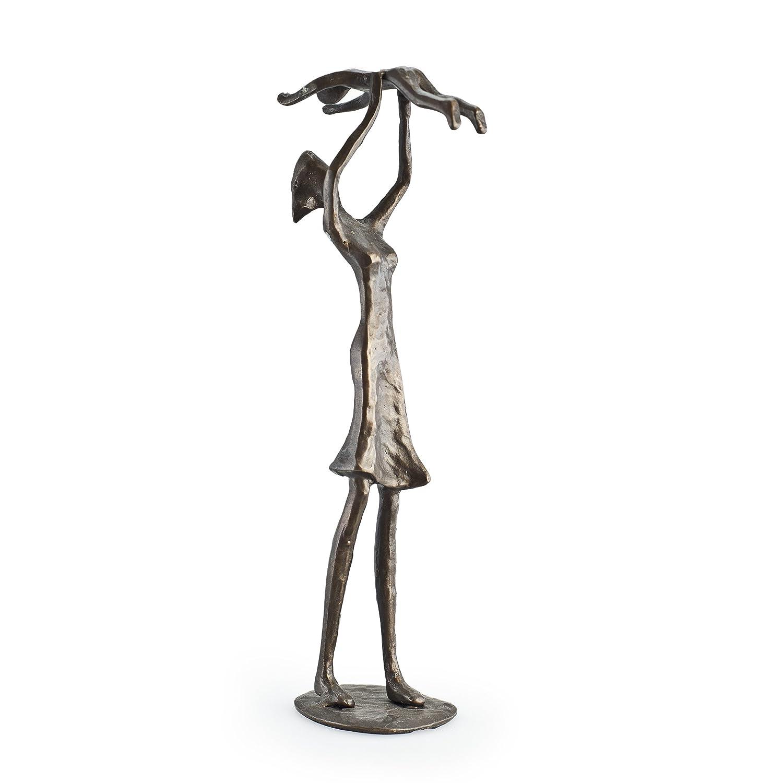 Danya B Mother Holding Child Bronze Sculpture Figure