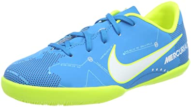 Nike Youth MercurialX Victory VI Neymar Indoor Shoes [Blue Orbit] (13C)