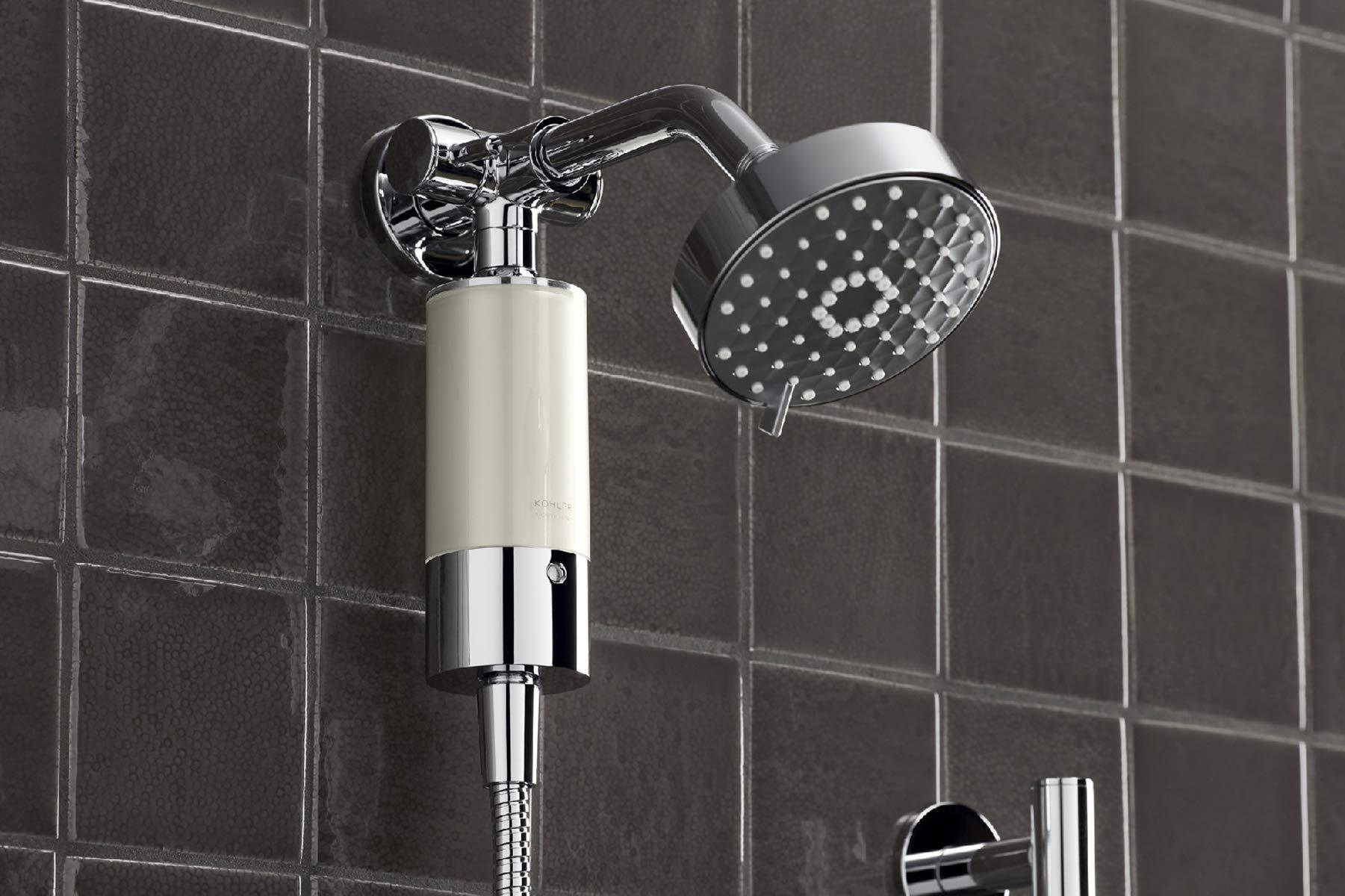 Kohler 30646-CP Aquifer Shower Water Filtration System, Reduce Chlorine and Odor, Includes Filter Replacement by Kohler (Image #10)