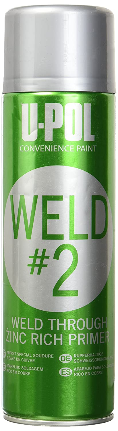 U-Pol Products 0789 Zinc WELD#2 Weld Through Primer - 450ml