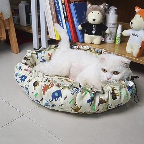 YQQ-Nido de mascotas Casa De Perro Pequeño Criadero Alfombra para Perros Nido De Gato