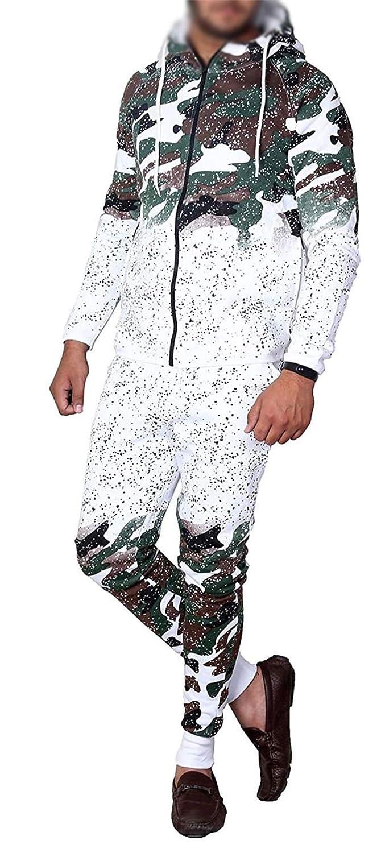 Mymixtrendz/® Kids Tracksuit Boys Girls Designers Project Camouflage Print Hoodie /& Botom Jogging Suit