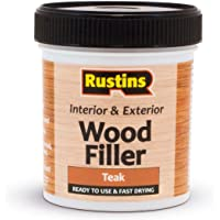 Rustins awoot250acrílico masilla de madera, teca, 250ml