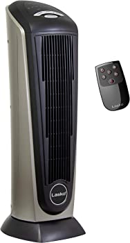 Lasko 751320 Ceramic Tower Space Heater with Built-in Timer and Remote Control