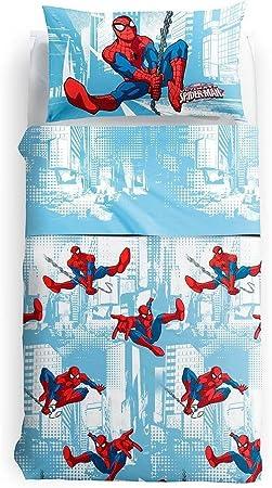 Juego de sábana cubrecama de Spider Man para cama