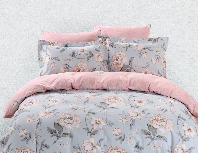 Dolce Mela Milos Queen Size Bedding Set DM617Q Duvet Cover Sheets Set
