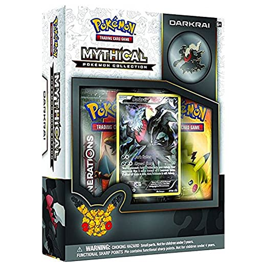2 opinioni per Pokemon Mythical Pokemon Collection- Darkrai Box English