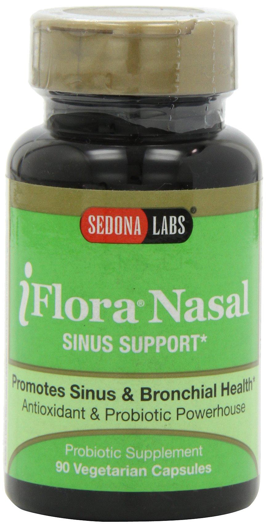 Sedona Labs Iflora Nasal Health Capsules, 90-Count