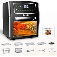 CalmDo Heteluchtfriteuse, 12L Mini Oven Airfryer, Voedsel Dehydrator, 18 Functies met LED-Touchscreen Temperatuur- en…