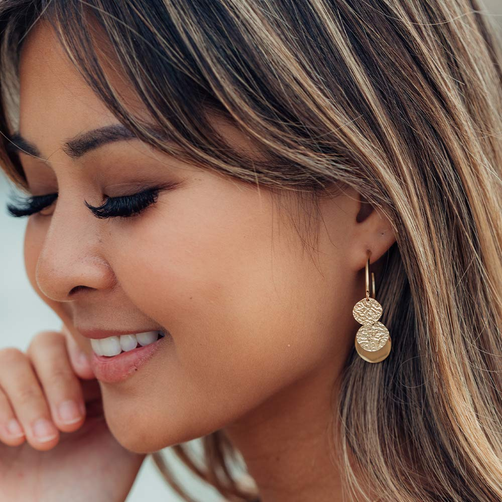 PURELEI/® Malihini Coin Ohrringe