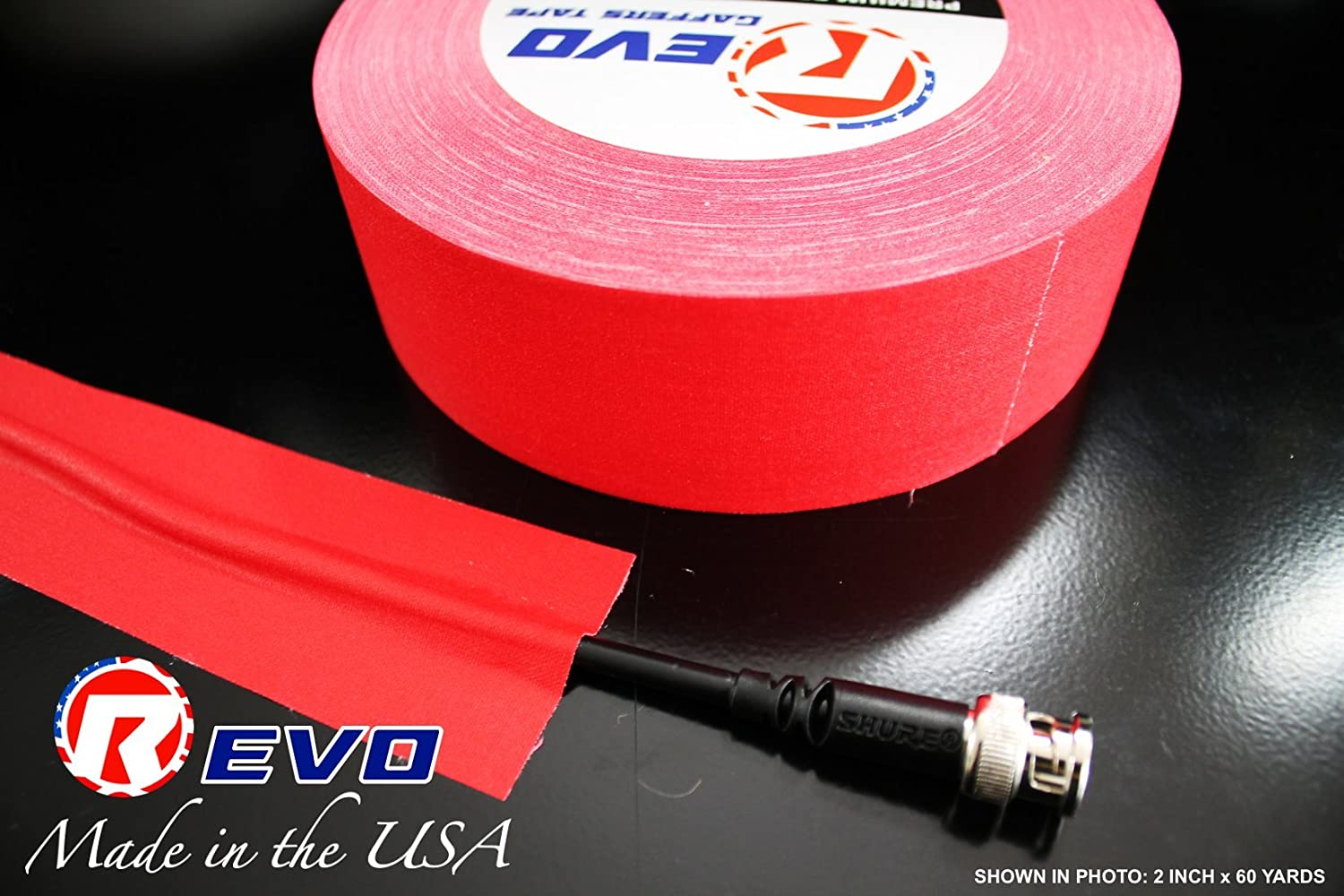 NAVY BLUE GAFFERS 2 x 30yds REVO Premium Professional Gaffers Tape MADE IN USA Camera Tape-Better than Duct Tape SINGLE ROLL