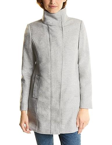 Street One Ojp_serena Melange Wool Coat, Abrigo para Mujer