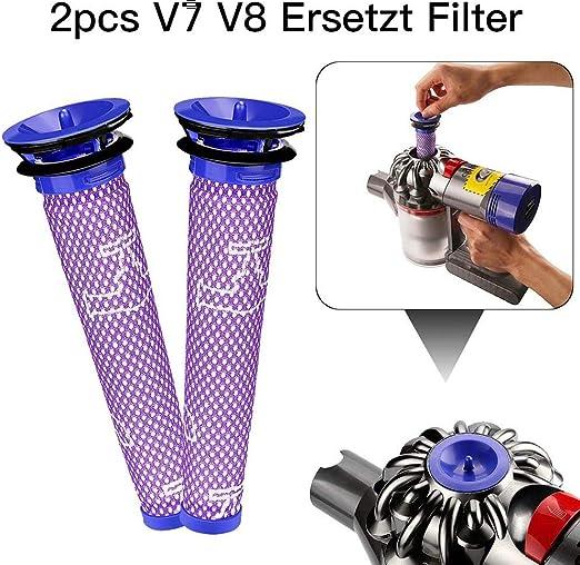 Zexa Dos V7 V8 reemplazan los prefiltros de Filtro del Filtro ...