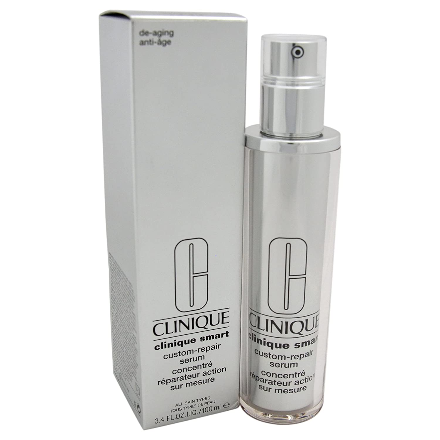 Clinique Unisex Smart Custom-Repair Serum, All Skin Types, 3.4 Ounce PerfumeWorldWide Inc. Drop Ship 0020714698928