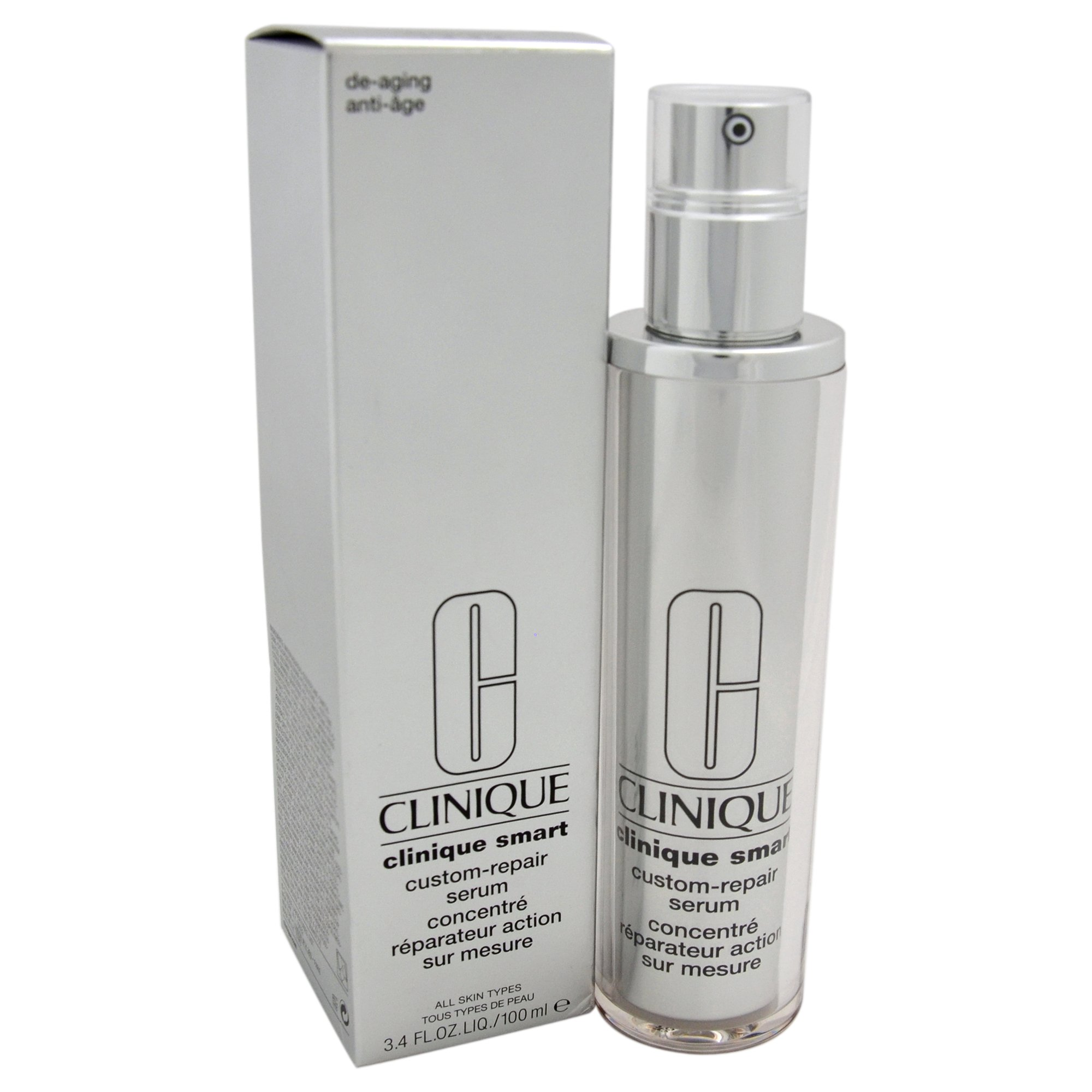 Clinique Unisex Smart Custom-Repair Serum, All Skin Types, 3.4 Ounce by Clinique (Image #1)