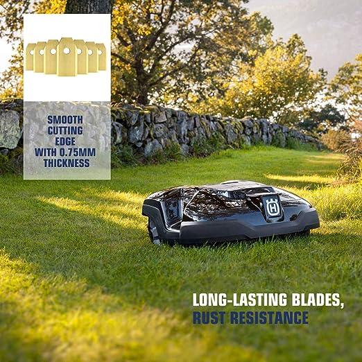 Yardforce - Cuchillas de titanio para robot cortacésped Husqvarna ...