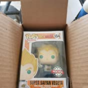 POP Dragon Ball Z Vinyl Figure Super Saiyan God Super Saiyan Vegeta a156 Funko
