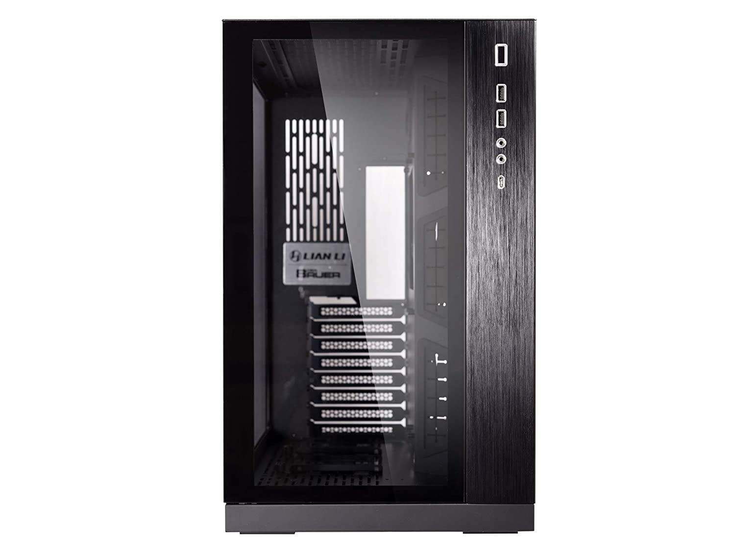Lian Li PC-O11DX 011 Dynamic Tempered Glass on The Front Chassis Body SECC ATX Mid Tower Gaming Computer Case Black