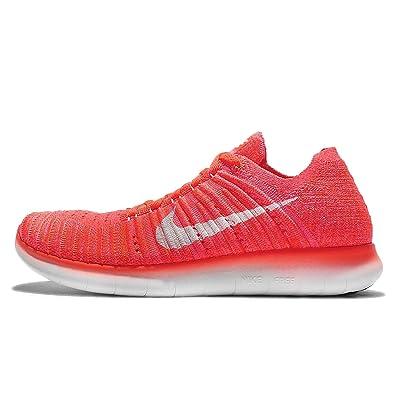 buy online 927a0 28980 ... new zealand nike womens free running motion flyknit shoes hyper orange  white total crimson dd937 d80ae
